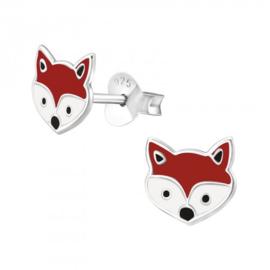 Zilveren vos oorsteker