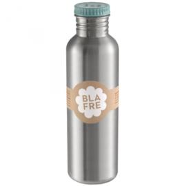 Blafre RVS fles 750 ml licht blauw