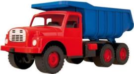 TATRA 148 Zandbak Kipper vrachtwagen Blauw/Rood