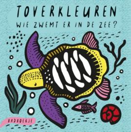 Wee Gallery Toverkleuren - Wie zwemt er in de zee?