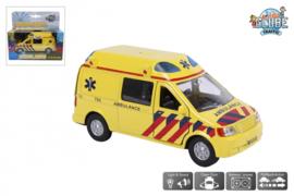 KidsGlobe Ambulance met licht en geluid