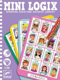 Djeco mini games - wie ben ik meisje