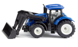 Siku Tractor New Holland met frontlader