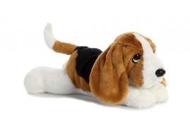 Flopsie knuffelhond Basset