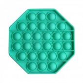 Pop It - Rond -/ poes Turquoise (foto niet juist)