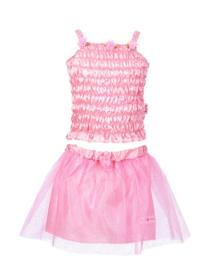 Souza for Kids - Melody set top+rok, roze (3 jaar)