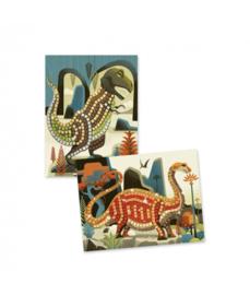 DJECO - Mozaiek Dinosaurus