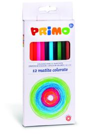 PRIMO - 12 kleurpotloden