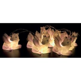 Lichtsnoer met eenhoorn lampjes