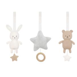 Jabadabado Babygym hangers Teddy&Bunny