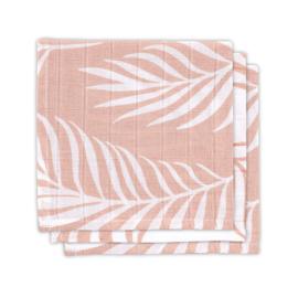Monddoekjes hydrofiel - Nature - Pale Pink - 3 Stuks