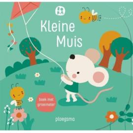 Kartonboek - Bora Kleine muis, boek met groeimeter
