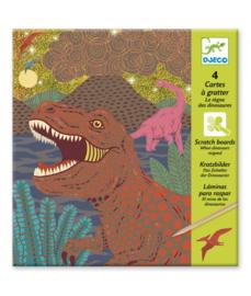 DJECO - Krasfolie Dinosaurus