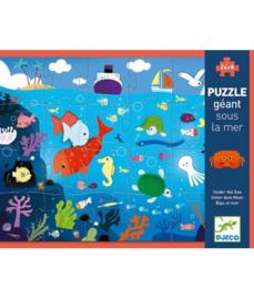 Giant Puzzel 24 stukjes - onder de zee