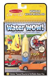 Water Wow! magisch kleurboek (Voertuigen)