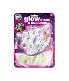 Glow in The dark - Stars & Unicorns