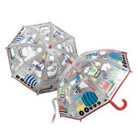 Magische paraplu voertuigen
