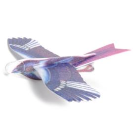 Foam vogel vliegtuigje