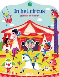 In het circus : plakken en kleuren