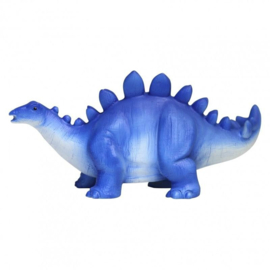 Stegosaurus led lamp blauw
