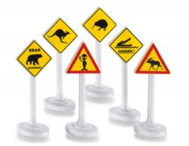Siku 6 Internationale verkeersborden