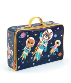 Djeco - suitcase - koffer ruimtevaart