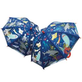 Magische paraplu zeedieren