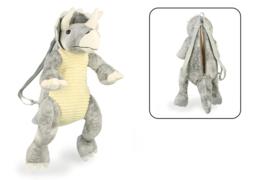 Dinosaurus Triceratops kinderrugtas