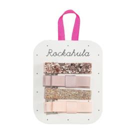 Rockahule Kids -Haarknijpertjes glitter goud