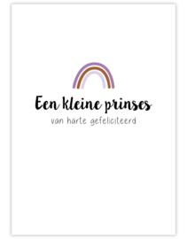 Postkaart - Een kleine prinses