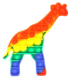 Pop It - Giraffe  -  Rainbow