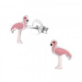 Flamingo oorstekertjes