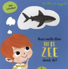 Kartonboek - Aan welk dier in de zee denk ik?