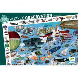 Puzzel observatie Luchtvaart 200st