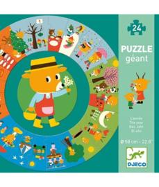 Giant Puzzel 24 stukjes - de jaargetijden