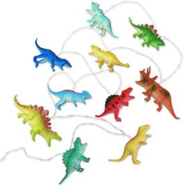 Dinosaurus lichtsnoer velle kleuren