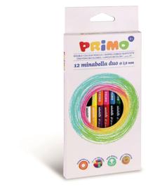 PRIMO - 12 Minabella duo kleurpotloden