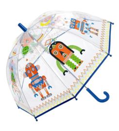 Paraplu doorzichtig robots