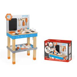 JANOD -  magnetische houten werkbank XL