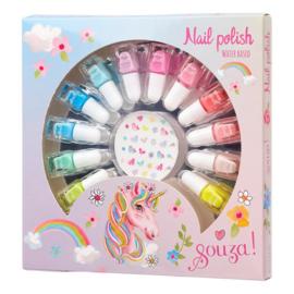 Cadeauset met 12 kleuren nagellak