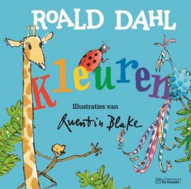 Kartonboek - Kleuren van Roald Dahl