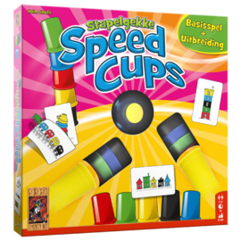 Stapelgekke Speed Cups 6 spelers - Actiespel