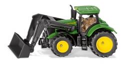 John Deere tractor met frontlader