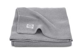 Jollein deken basic knit 75x100cm Stone Grey