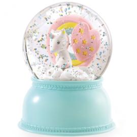DJECO - Sneeuw nachtlampje unicorn