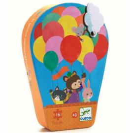 Puzzel 16 stukjes - De luchtballon