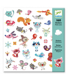DJECO - 160 stickers Little Friends