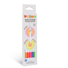 PRIMO - 6 fluoriserende Minabella kleurpotloden