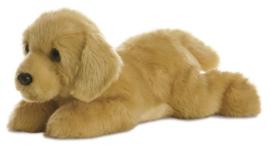 Flopsie knuffelhond Goldie