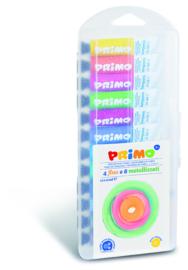 PRIMO - Plakkaatverf Metal+Fluo in tube (12x12ml) in box